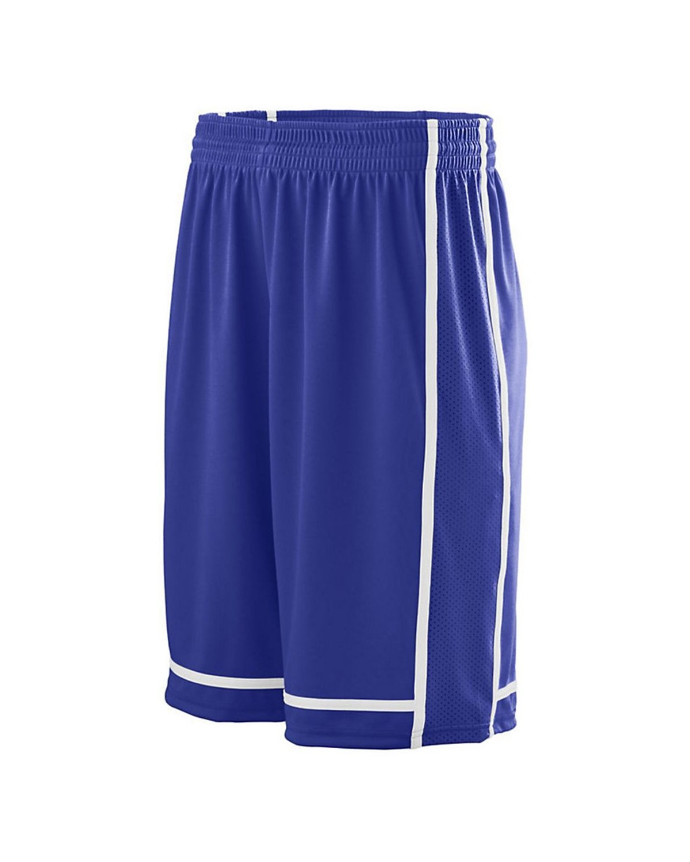 1185 Augusta Sportswear PURPLE/ WHITE