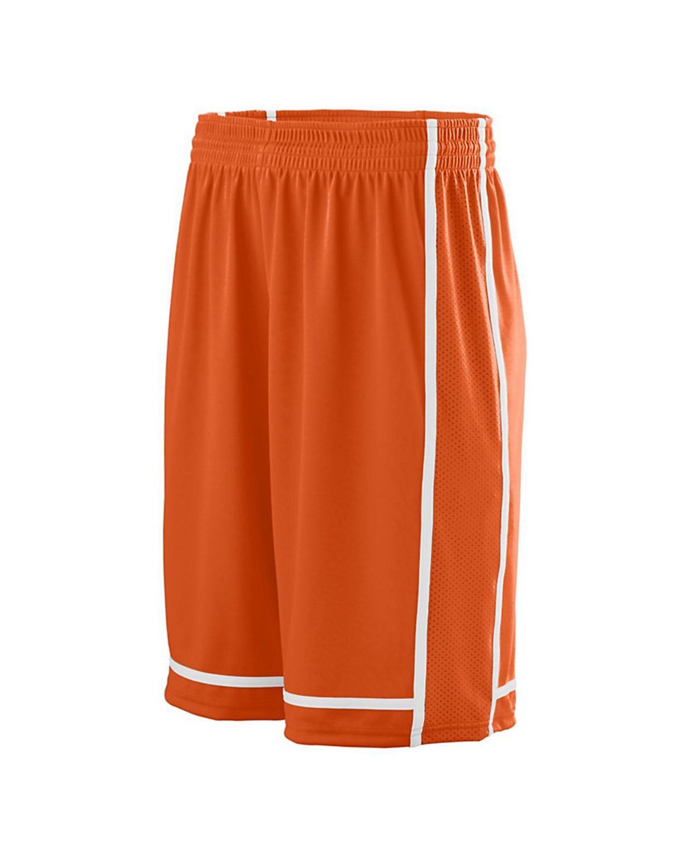 1186 Augusta Sportswear ORANGE/ WHITE