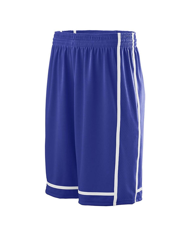 1186 Augusta Sportswear PURPLE/ WHITE