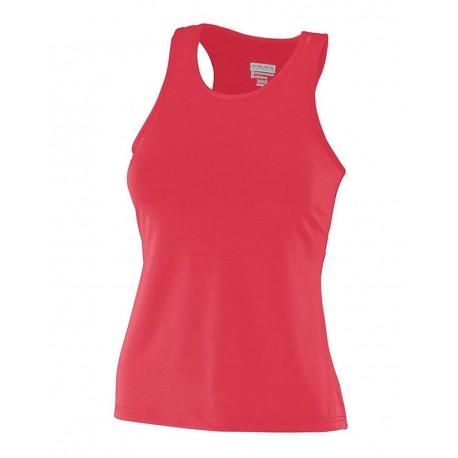 1202 Augusta Sportswear 1202 Women's Solid Racerback Tank RED