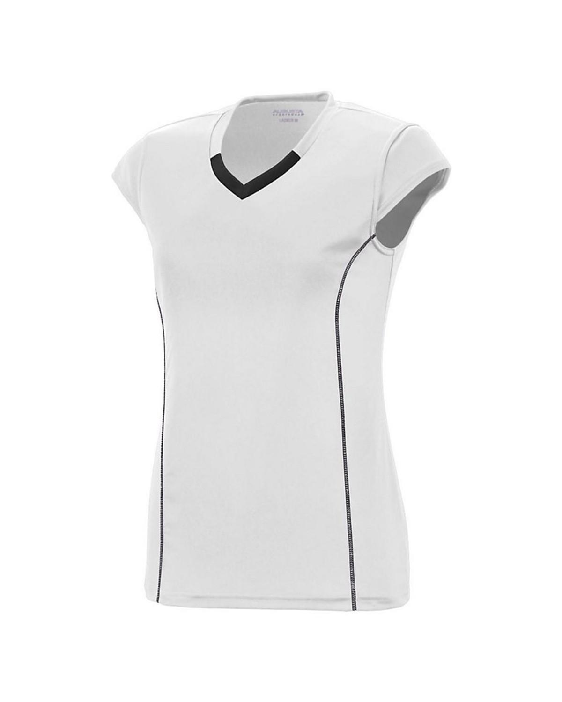 1218 Augusta Sportswear WHITE/ BLACK