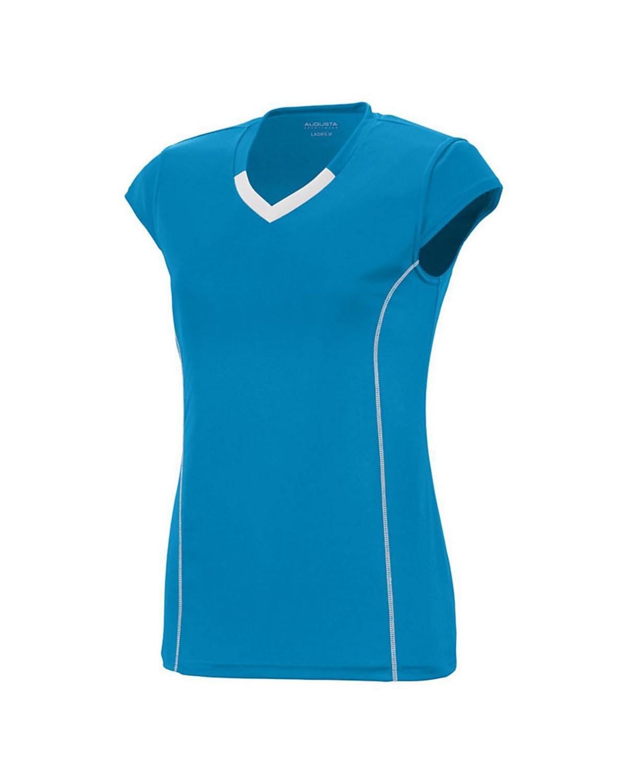 1218 Augusta Sportswear Power Blue/ White