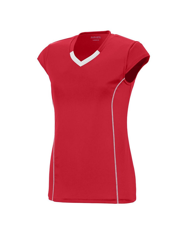 1218 Augusta Sportswear RED/ WHITE