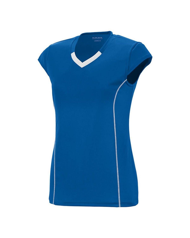 1218 Augusta Sportswear ROYAL/ WHITE