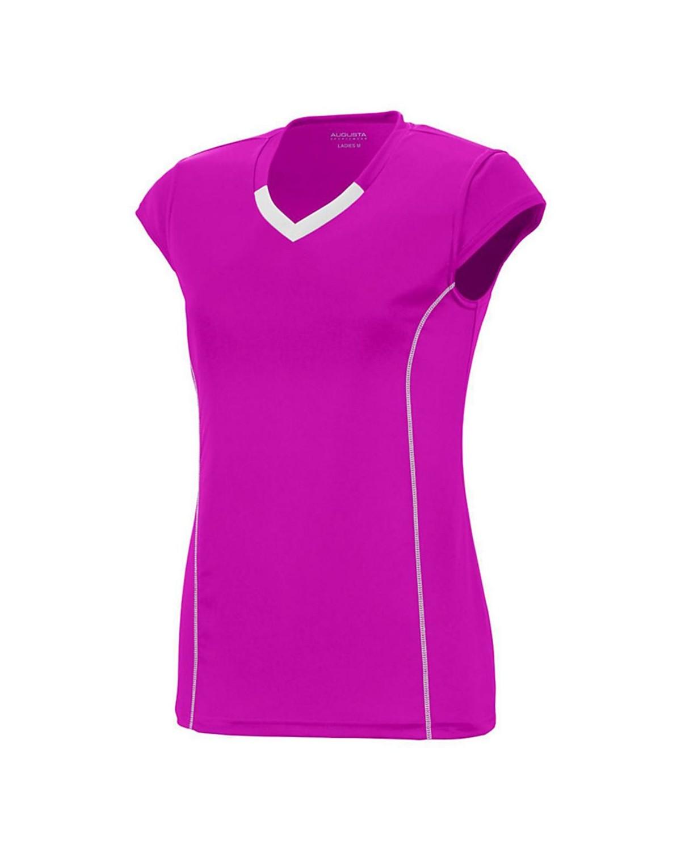 1219 Augusta Sportswear Power Pink/ White