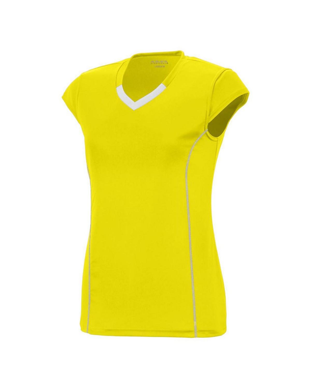 1219 Augusta Sportswear Power Yellow/ White