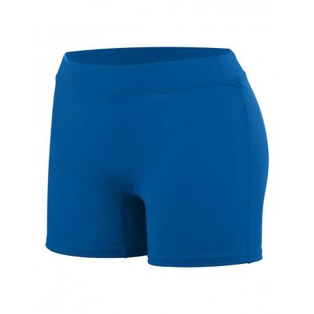 1223 Augusta Sportswear 1223 Girls' Enthuse Shorts ROYAL