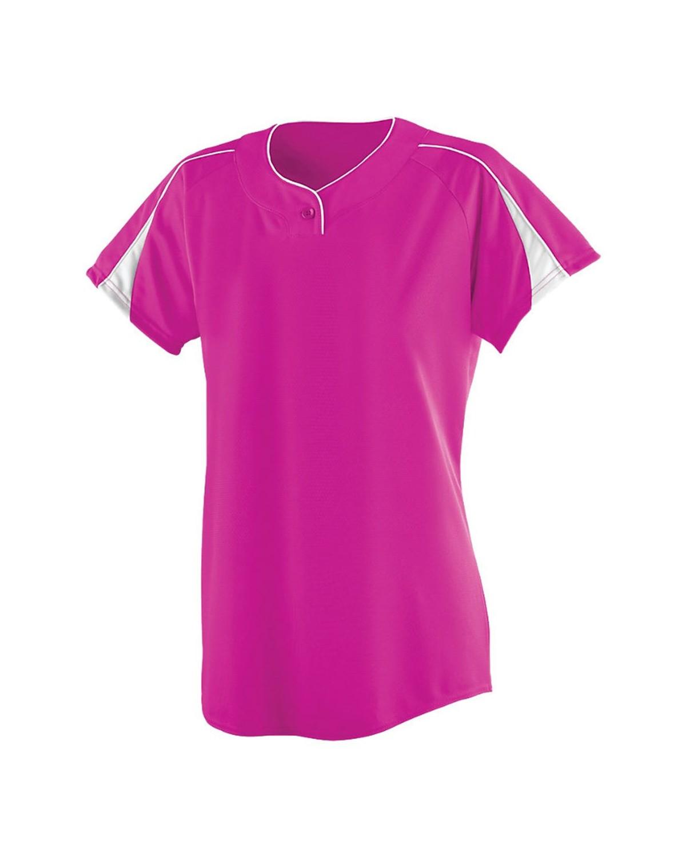 1225 Augusta Sportswear Power Pink/ White
