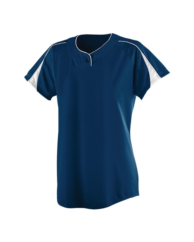 1225 Augusta Sportswear NAVY/ WHITE