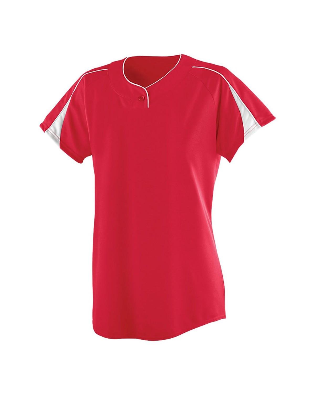 1225 Augusta Sportswear RED/ WHITE