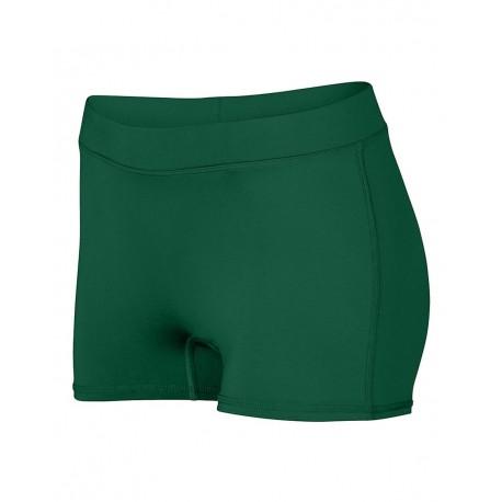 1232 Augusta Sportswear 1232 Women's Dare Shorts DARK GREEN