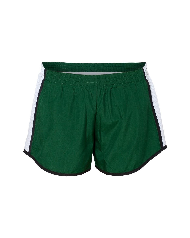 1265 Augusta Sportswear Dark Green/ White/ Black