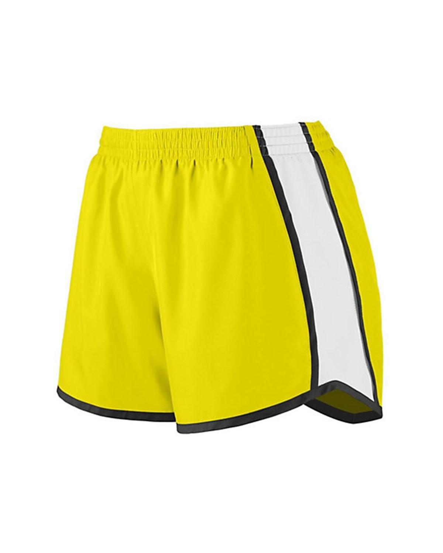 1265 Augusta Sportswear Power Yellow/ White/ Black