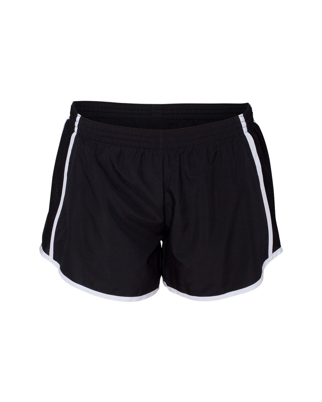 1265 Augusta Sportswear Black/ Black/ White