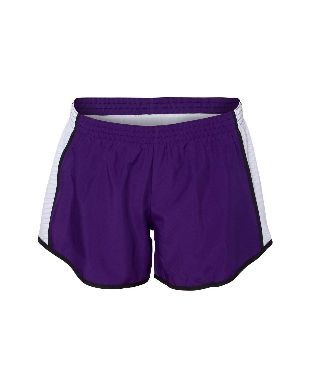 1265 Augusta Sportswear Purple/ White/ Black