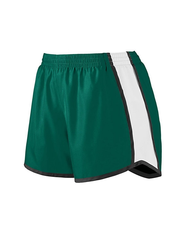 1266 Augusta Sportswear Dark Green/ White/ Black