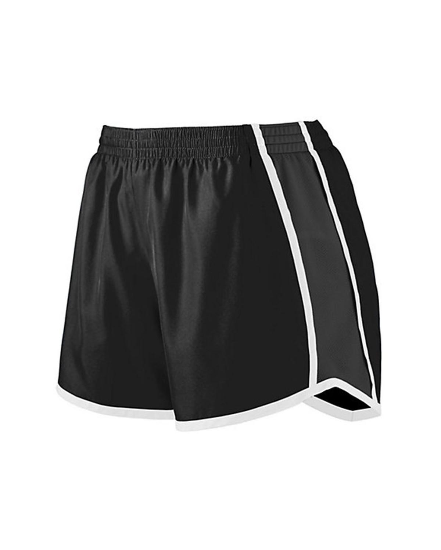 1266 Augusta Sportswear Black/ Black/ White