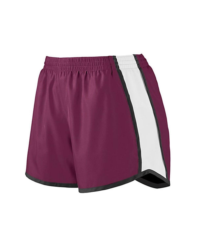 1266 Augusta Sportswear Maroon/ White/ Black