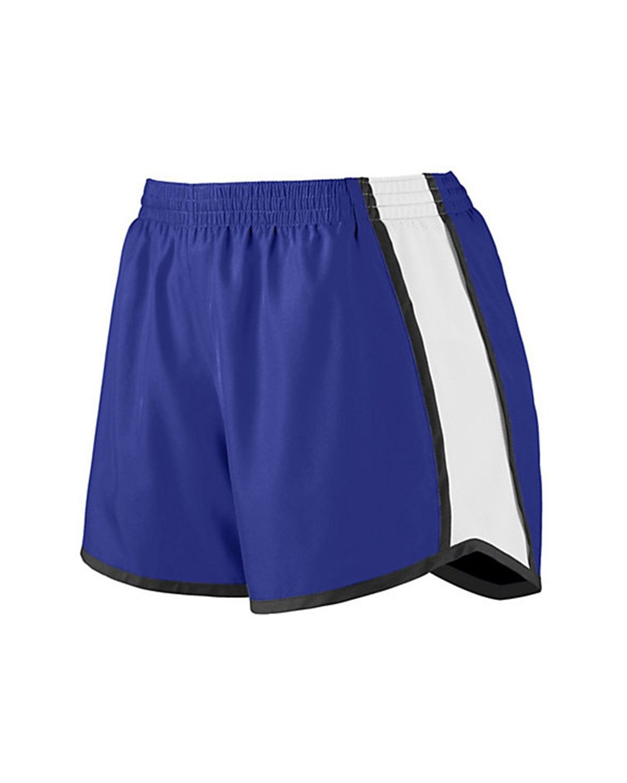 1266 Augusta Sportswear Purple/ White/ Black