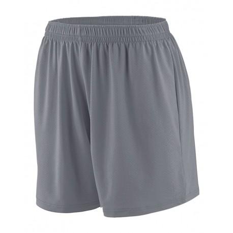 1293 Augusta Sportswear 1293 Girls' Inferno Shorts GRAPHITE