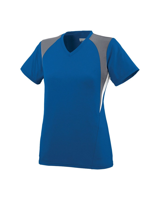 1295 Augusta Sportswear Royal/ Graphite/ White