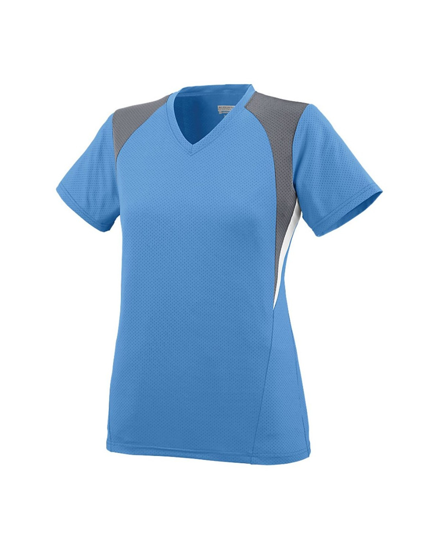 1296 Augusta Sportswear Columbia Blue/ Graphite/ White