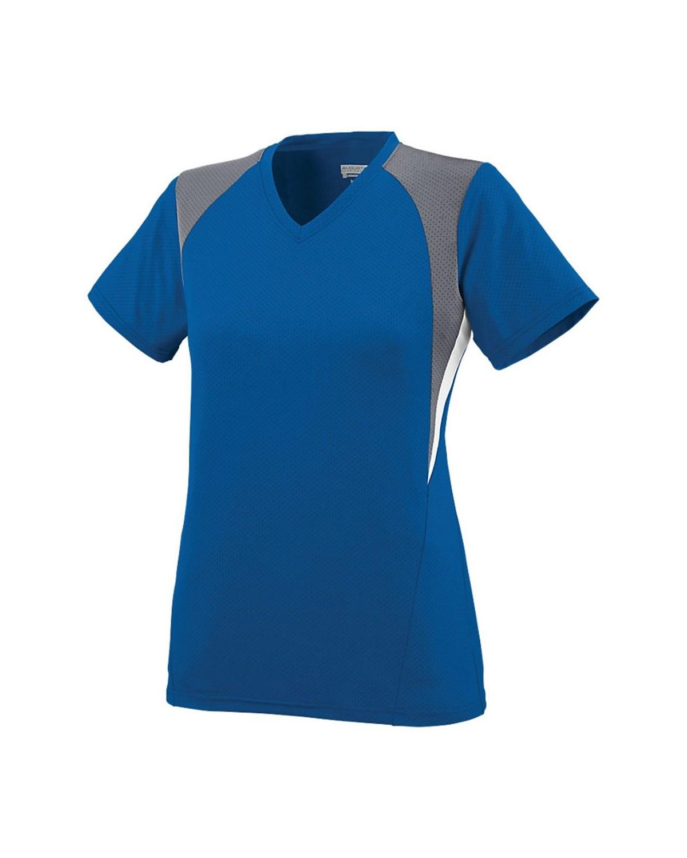 1296 Augusta Sportswear Royal/ Graphite/ White