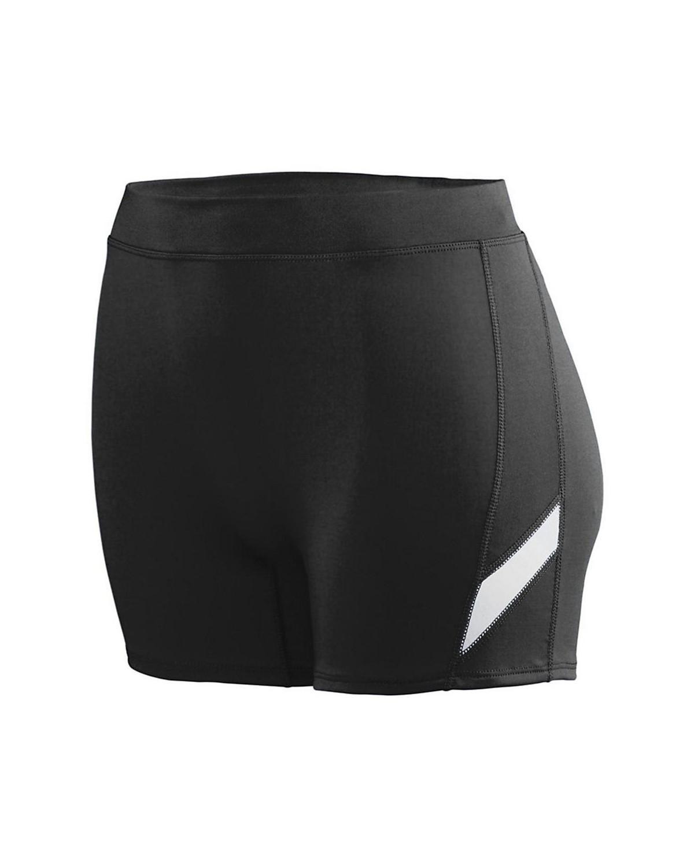 1335 Augusta Sportswear BLACK/ WHITE