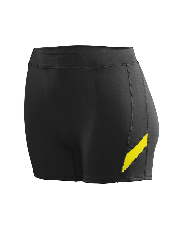 1335 Augusta Sportswear Black/ Power Yellow