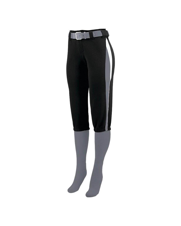 1340 Augusta Sportswear Black/ Graphite/ White