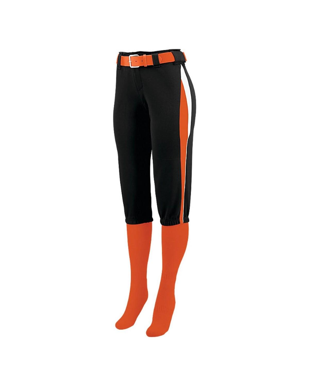 1340 Augusta Sportswear Black/ Orange/ White