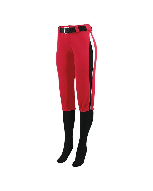1340 Augusta Sportswear Red/ Black/ White