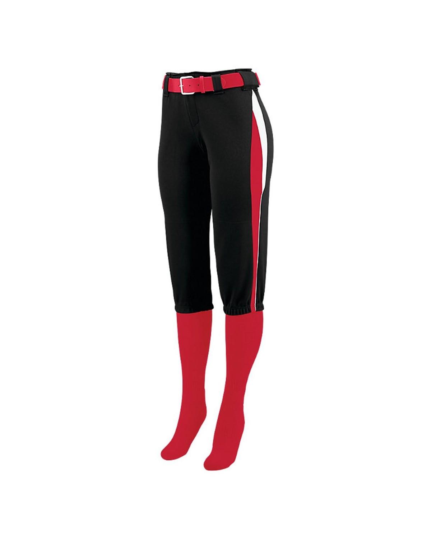 1340 Augusta Sportswear Black/ Red/ White