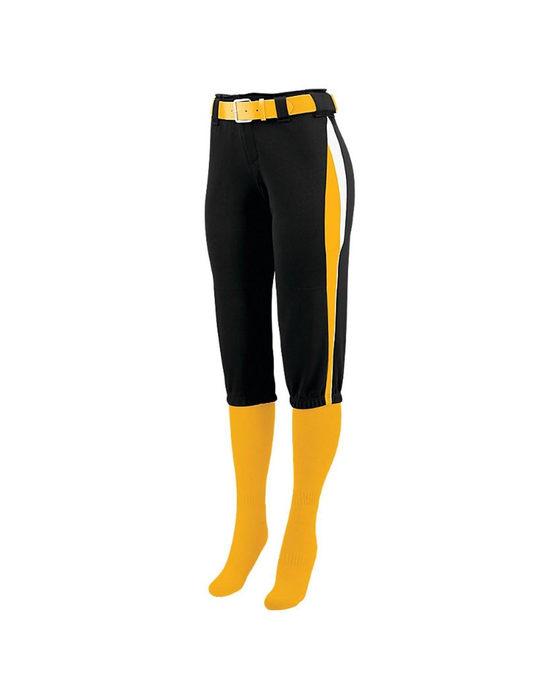 1340 Augusta Sportswear Black/ Gold/ White