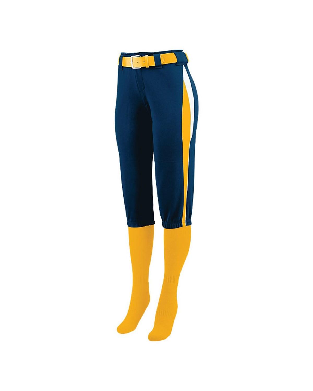 1340 Augusta Sportswear Navy/ Gold/ White