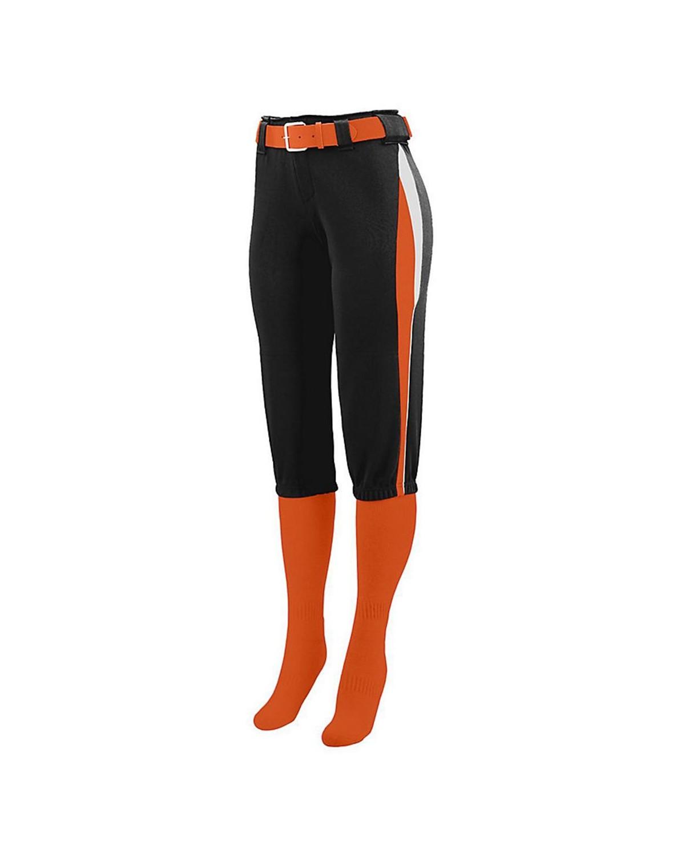 1341 Augusta Sportswear Black/ Orange/ White