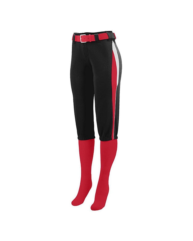 1341 Augusta Sportswear Black/ Red/ White