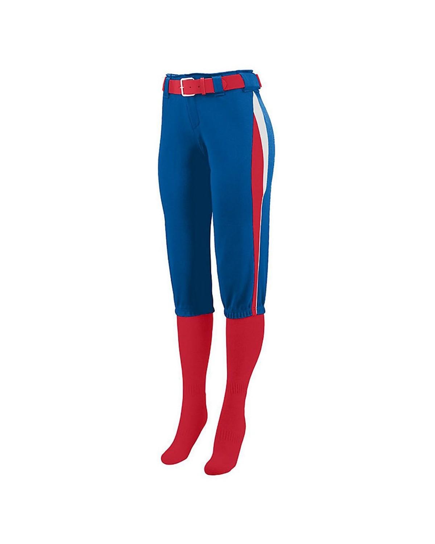 1341 Augusta Sportswear Royal/ Red/ White