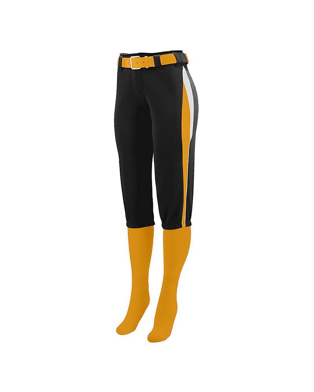 1341 Augusta Sportswear Black/ Gold/ White