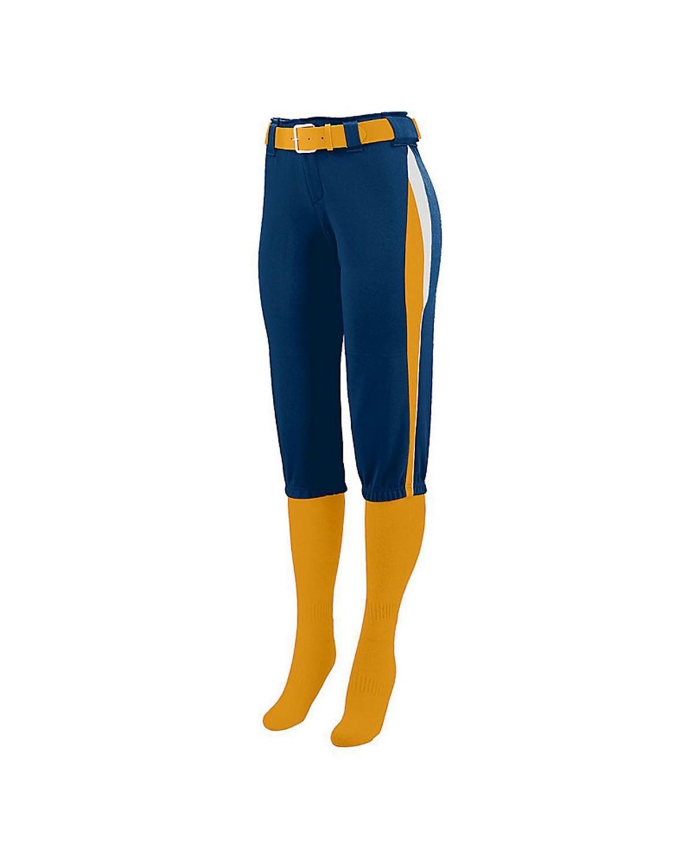 1341 Augusta Sportswear Navy/ Gold/ White
