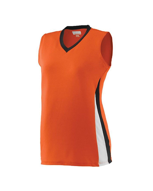 1355 Augusta Sportswear Orange/ Black/ White