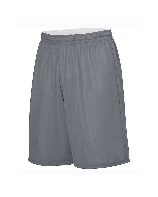 1406 Augusta Sportswear GRAPHITE/ WHITE