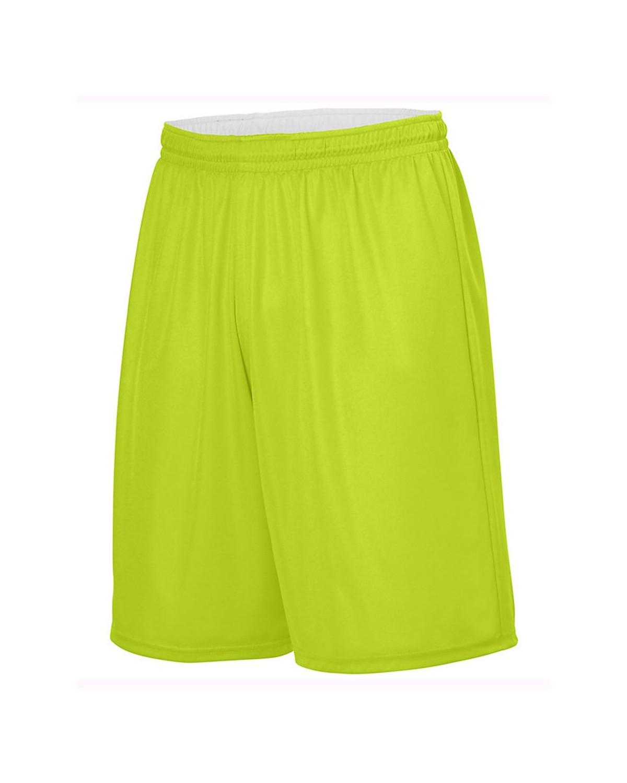 1406 Augusta Sportswear LIME/ WHITE