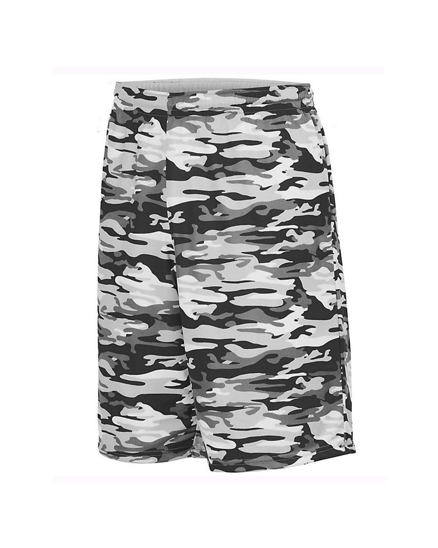 1406 Augusta Sportswear Black Mod/ White