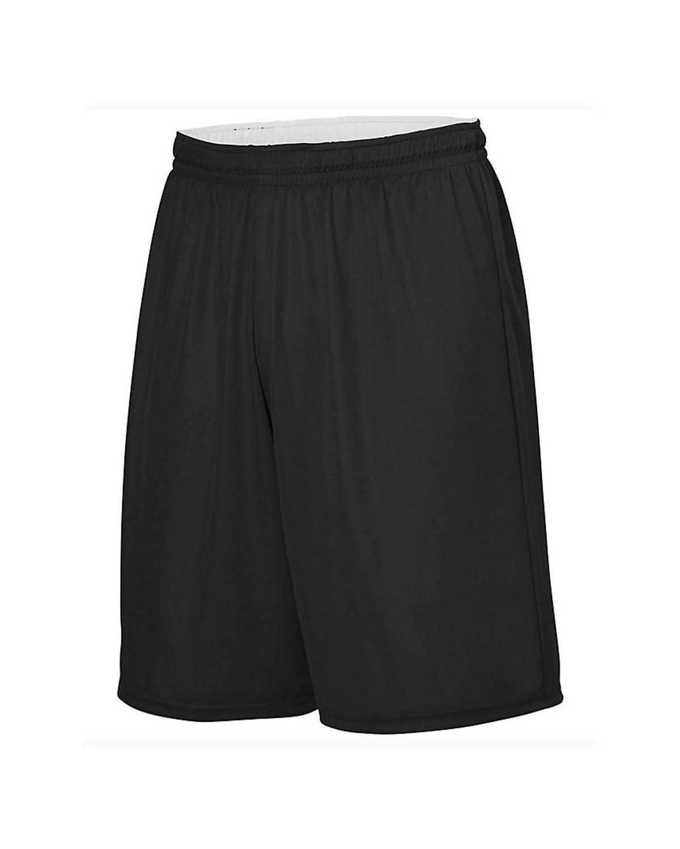 1407 Augusta Sportswear BLACK/ WHITE
