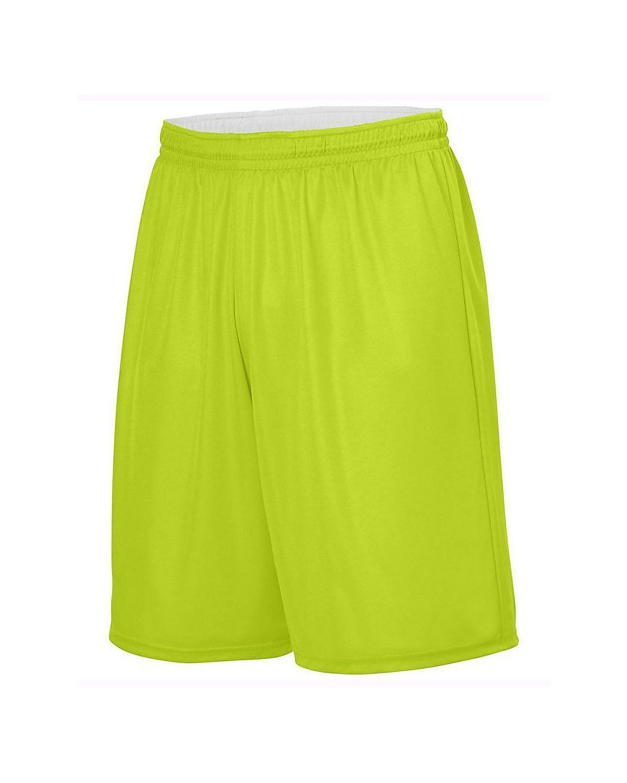1407 Augusta Sportswear LIME/ WHITE