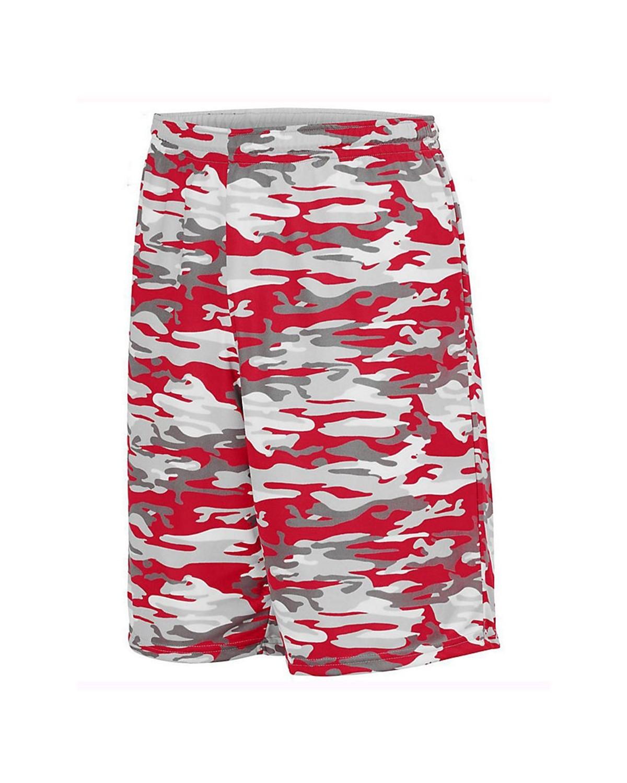 1407 Augusta Sportswear Red Mod/ White