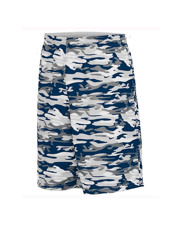 1407 Augusta Sportswear Navy Mod/ White