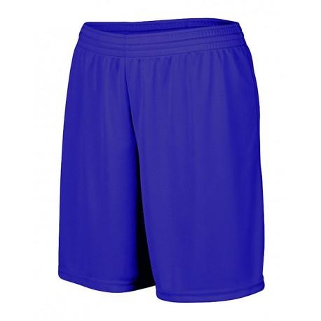 1423 Augusta Sportswear 1423 Women's Octane Shorts PURPLE