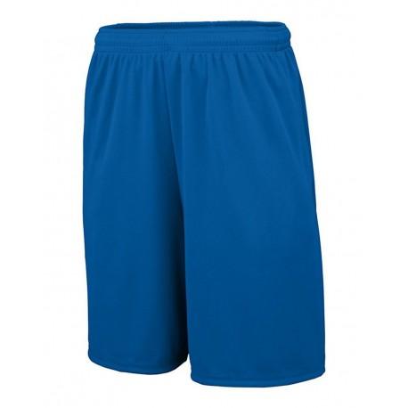 1429 Augusta Sportswear 1429 Youth Training Shorts with Pocket ROYAL